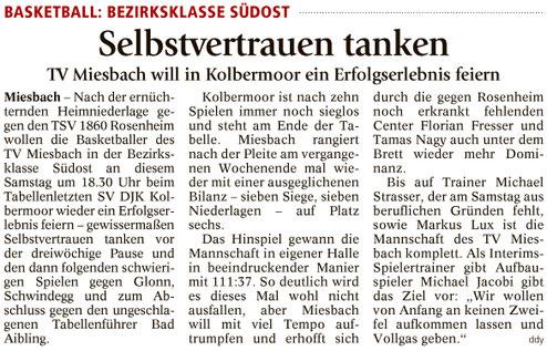 Artikel im Miesbacher Merkur am 18.2.2017 - Zum Vergrößern klicken