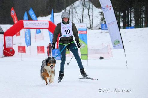Photo prise par : Christine Nglm lors du Trophée Fédéral Neige 2020
