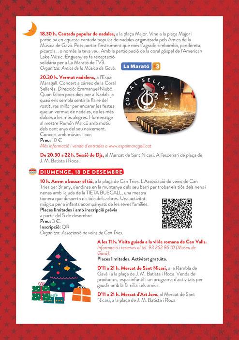 Mercat de Sant Nicasi, Nadal i Calvalcada de Reis en Gavà