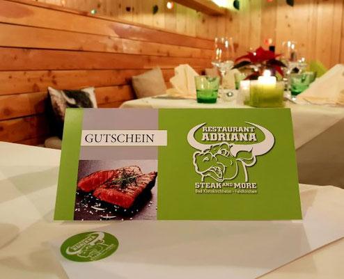 Steak Restaurant Adriana Bad Kleinkirchheim