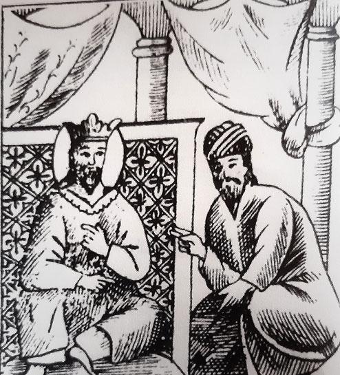 Il re è felice dei racconti di Bidpai - dal libro Calila e Dimna di Kader Abdolah, edizione Iperborea