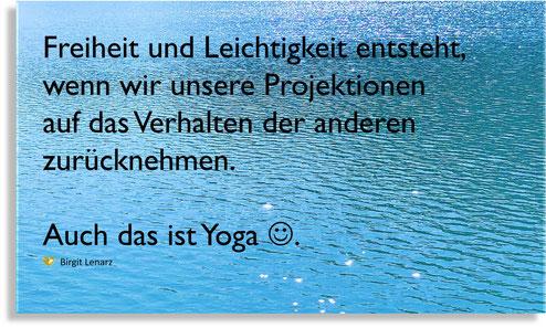 Yoga Freiheit und Leichtigkeit