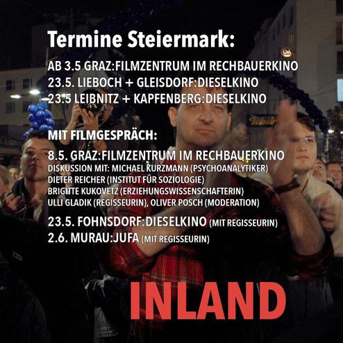 """Filmgespräch """"Inland"""" - mit Ulli Gladik"""