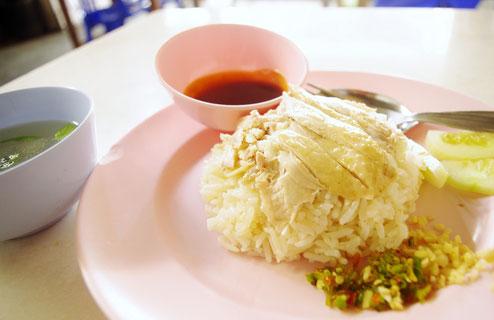 チェンマイで食べたカオマンガイ
