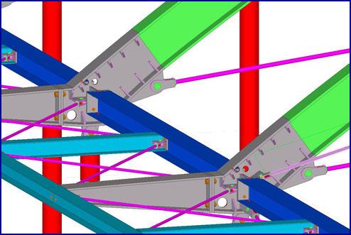 Anschlüsse im BIM-3D-Modell