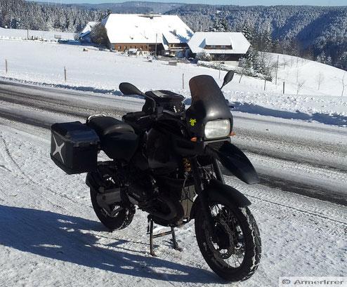Winter 2012/13 im Schwarzwald bei St. Märgen