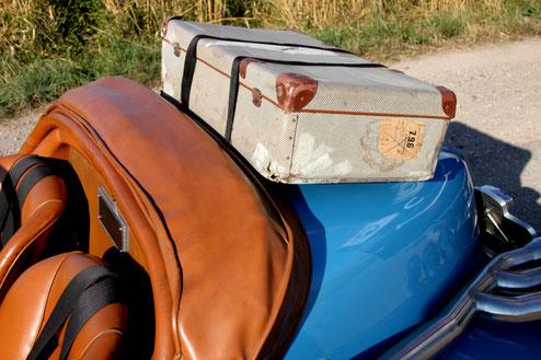 Excalibur 35X vieux bagage vintage