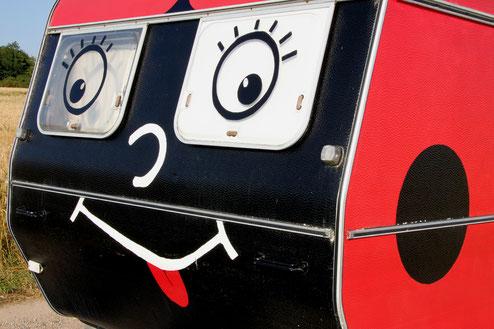 coccinelle dessin caravane