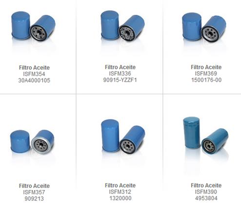 filtroa aceite partes refacciones accesorios montacargas mexico