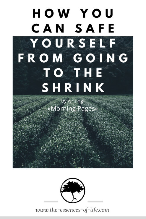 No shrink anxiety depression morning pages