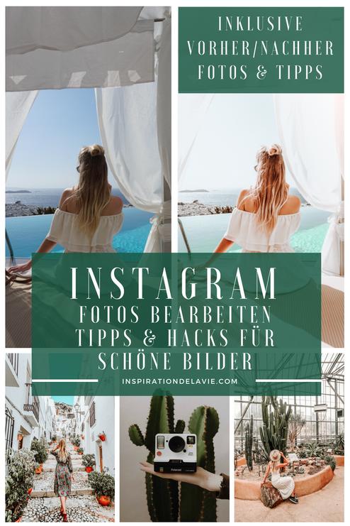 Instagram Fotos bearbeiten kannst du mit vielen Apps oder am PC. Erfahre meine Bildbearbeitungs Tipps sowie meine Hacks für Instagram und Vorher Nachher Fotos für einen schönen Feed, Wachstum und mehr Reichweite auf Instagram und deinem Blog. Ob VSCO, Sna