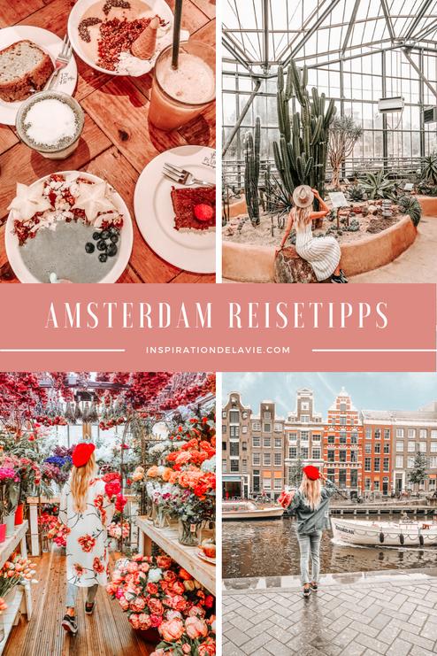 Plane deinen Amsterdam Städtetrip und unternehme Ausflüge entdecke Sehenswürdigkeiten, Restaurants, Tulpenfelder und die besten Instagram Spots bei einer Städtereise nach Amsterdam. Lese jetzt meine Geheimtipps für Amsterdam. Schlendere entlang der Gracht