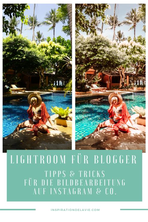 Erstelle mit meinen Instagram Bildbearbeitung Tipps für Lightroom deine Blogger Presets. Lerne, wie du Instagram Bilder richtig bearbeiten kannst und erfahre Lightroom Workflow Tipps zu meiner Blogger Bildbearbeitung auf Instagram. Jetzt Bilder Bearbeiten