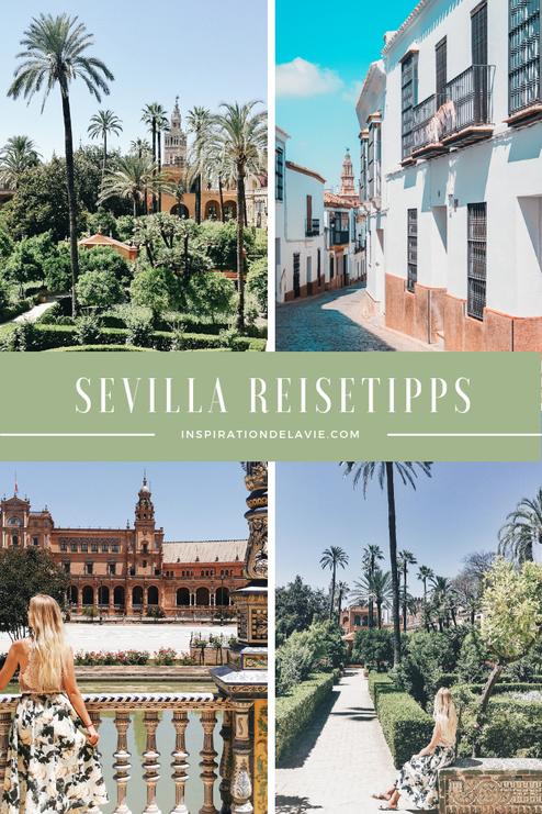 Ein Reiseführer für Sevilla mit Tipps, Tricks und Empfehlungen zu den besten Restaurants, Ausblicken, Ausflügen, Real Alcázar, der Plaza de España und den schönsten Sehenswürdigkeiten in Sevilla. Außerdem findest du die schönsten Instagram Spots. Inspirat