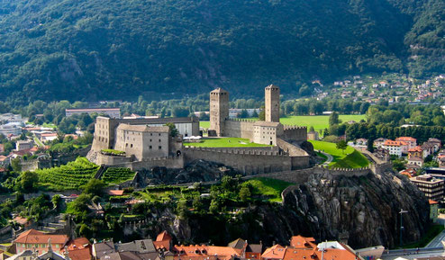 Unesco Weltkulturerbe Castelgrande