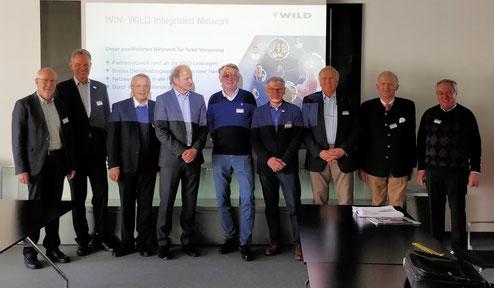 vlnr: Sereinig, Fuchs, Rausch, Hackl, Wolschner, Huber, Holzer, Dobringer, Muchar
