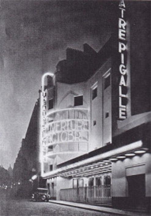 Inauguré le 20 Juin 1929. Vendu en 1958. Un garage est construit à la place