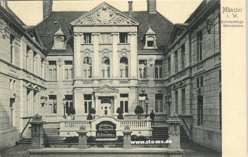 Schmeddings Weinstuben um 1910