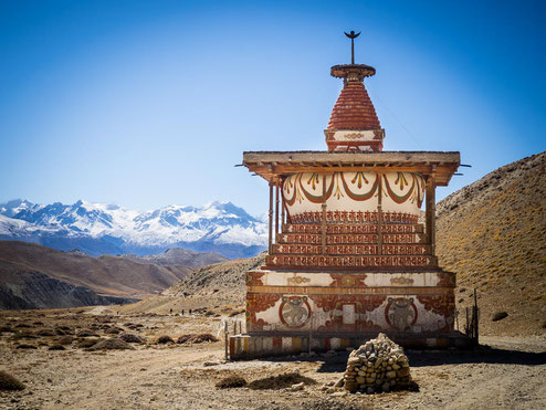 Ein Traummotiv  eines jeden Fotografen und mir ;-) - die Stupa Sungda Chhorten