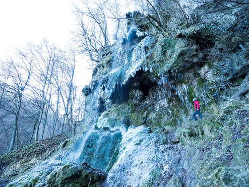 Der Uracher Wasserfall - zu jeder Jahreszeit faszinierend