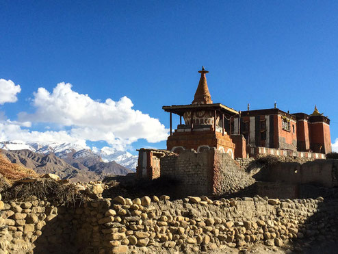 Das Kloster von Tsarang