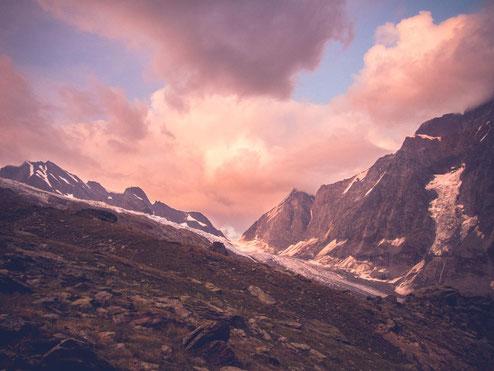 Alpenglühen vom feinsten