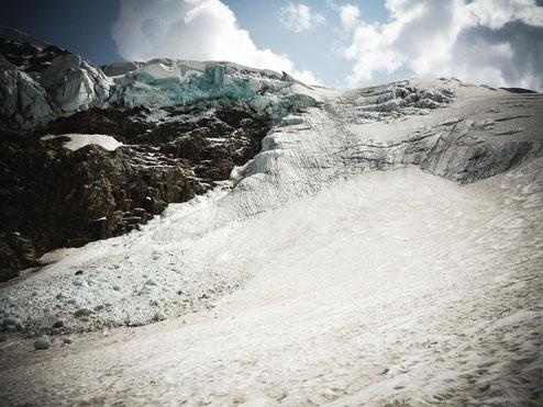 Eisbruch am Steingletscher
