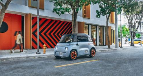 Der neue Citroën Ami bei Autohaus Vallorani