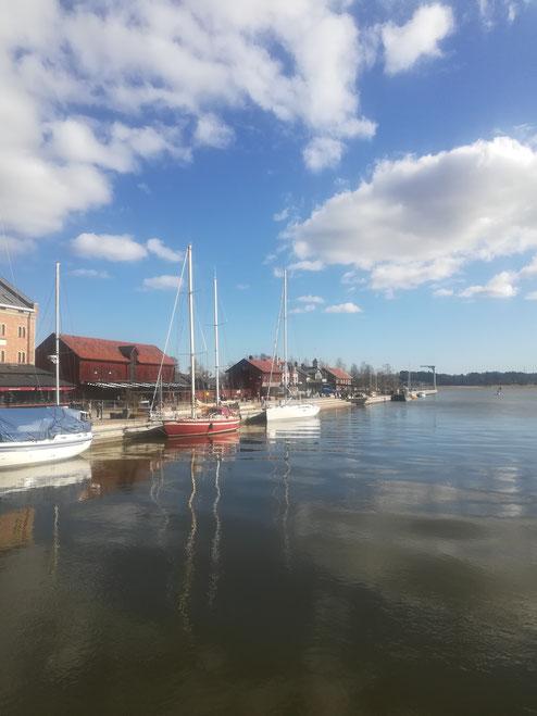 Der Hafen von Nyköping