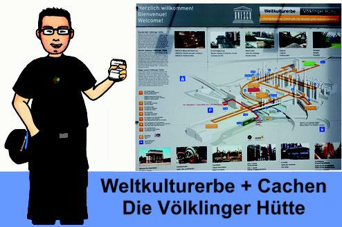 Titelbild: Weltkulturerbe + Cachen