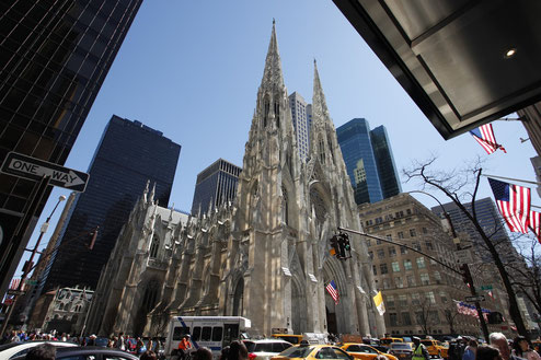 Die St. Patrick's Cathedral in New York