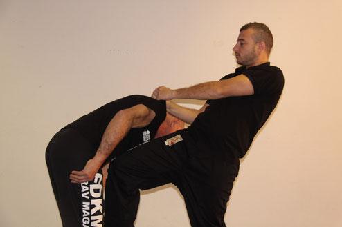 Cours d'instructeur Krav Maga FDKM