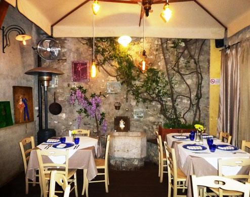 Restaurant, Limone/Gardasee, Copyright: Ilona M. Schütt, www.basenfasten-hamburg.net