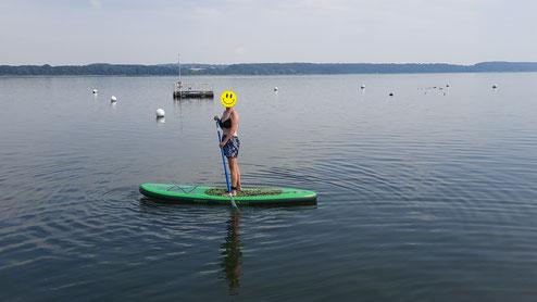 Stand Up Paddling - ein tolles Vergnügen auf dem Ratzeburger See