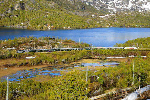 Bahnfoto P.Trippi Norwegen