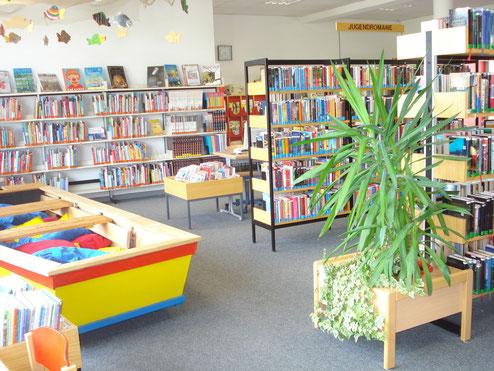 Stadtbücherei im Ganztagszentrum