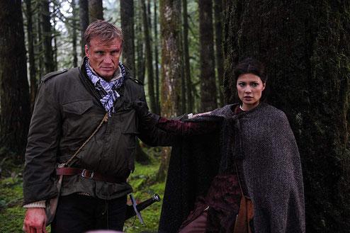 © 2011 - 20th Century Fox Home Entertainment; Natassia mit Dolph Lundgren; Schwerter des Königs 2