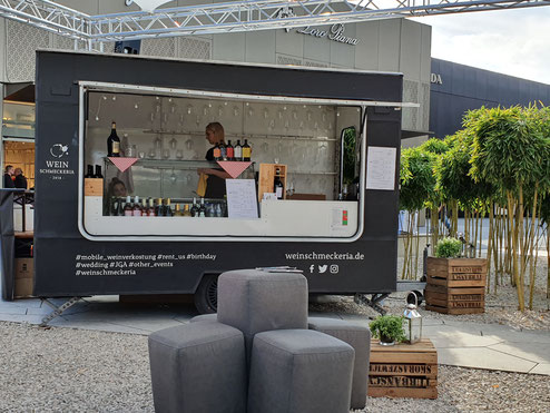 Sektempfang der Weinschmeckeria im Allgäu