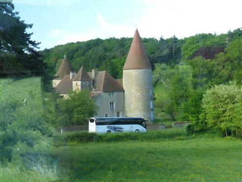 """Groupe Viking Cruises en demi journée """"Beaujolais Wine Country"""" - organisation Go Côté Saône - autocars Philibert Transport"""