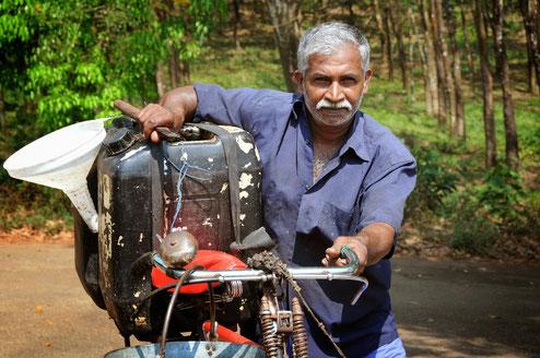 Mr. Dadmanabhan in New Ambadi: Übernahme der Behandlungskosten durch den Fair Trade-Fonds