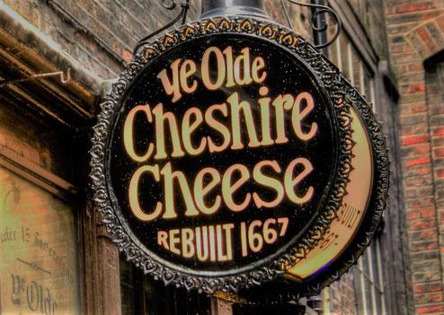 Außergewöhnliche Bars London - Ye Old Cheshire Cheese