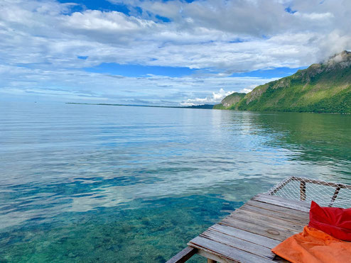 Paradijsjes bij Sawai op de Molukken
