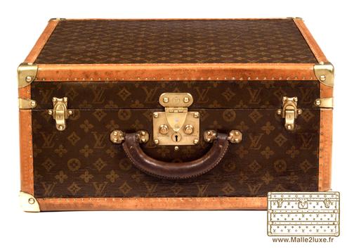 valise suitcase Louis vuitton 1934 toile nettoyé et recollé