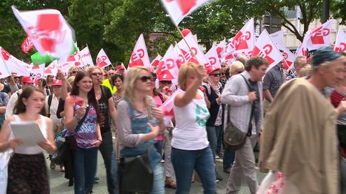 Lehrerstreik in Hessen