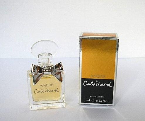2007 - GRES - AMBRE DE CABOCHARD : EAU DE TOILETTE 7 ML