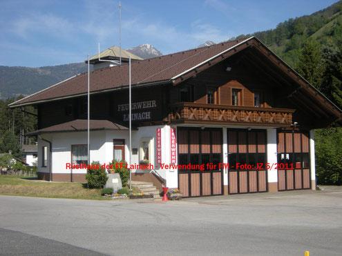 Rüsthaus Feuerwehr Lainach