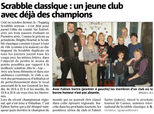 Article var matin du 13 mars 2013