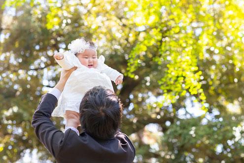 お宮参り 長崎神社 豊島区 出張撮影 家族写真 女性カメラマン