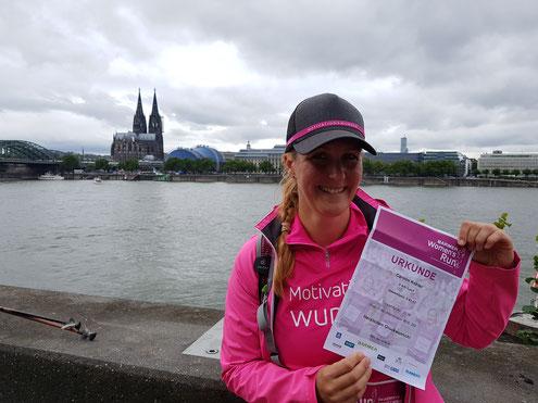 Women's Run Köln 2017 Rhein Dom Panorama Joggen Laufen