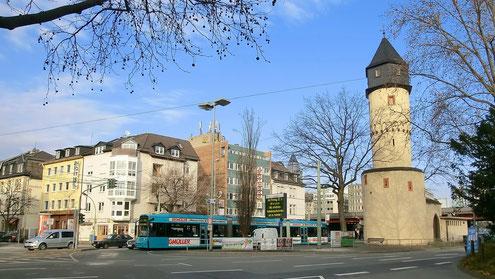 Galluswarte - Mainzer Landstr. / Hufnagelstr.